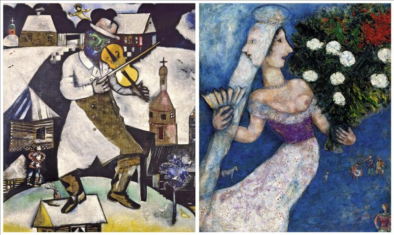 «Marc Chagall es un pintor que levanta pasiones aunque se tenga una idea equivocada de su producción»