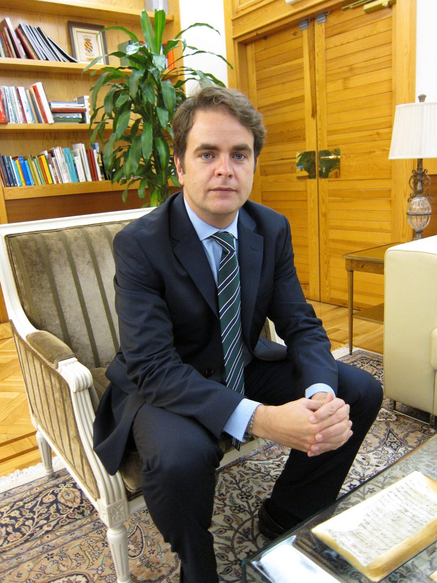 Bermúdez de Castro está «convencido» de que la N-232 «será una de las prioridades del Gobierno de Rajoy»