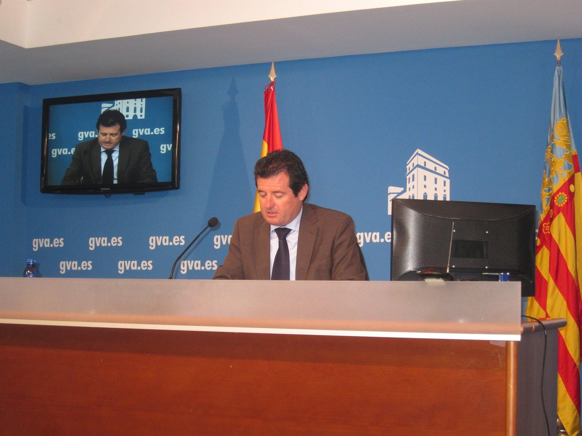 Císcar asegura que la Generalitat está «haciendo lo que toca hacer» con la deuda