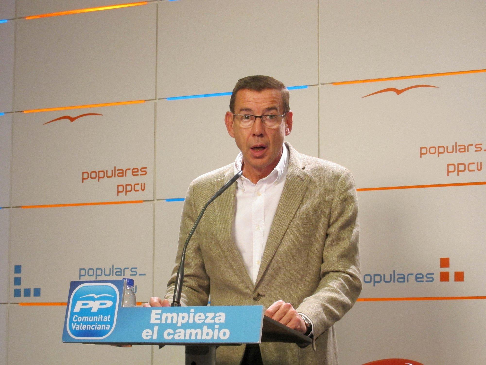 Clemente critica el «discurso oportunista» de Alarte y destaca la «defensa firme» de Fabra sobre Corredor Mediterráneo