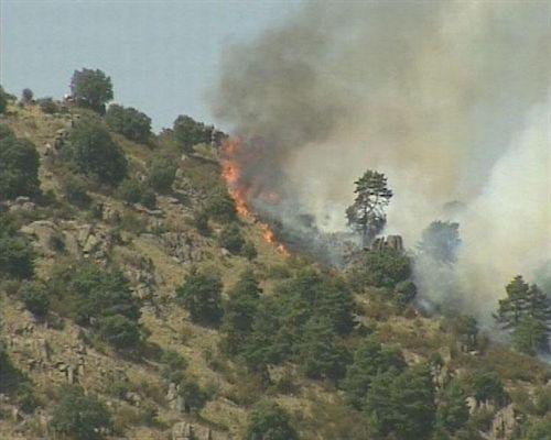Controlado un incendio forestal en Samos (Lugo), que calcinó 440 hectáreas