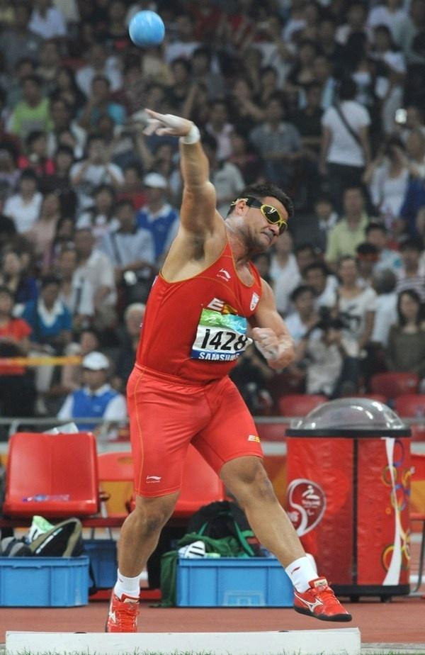 David Casinos y Eva Ngui, grandes favoritos en el Campeonato de España Paralímpico