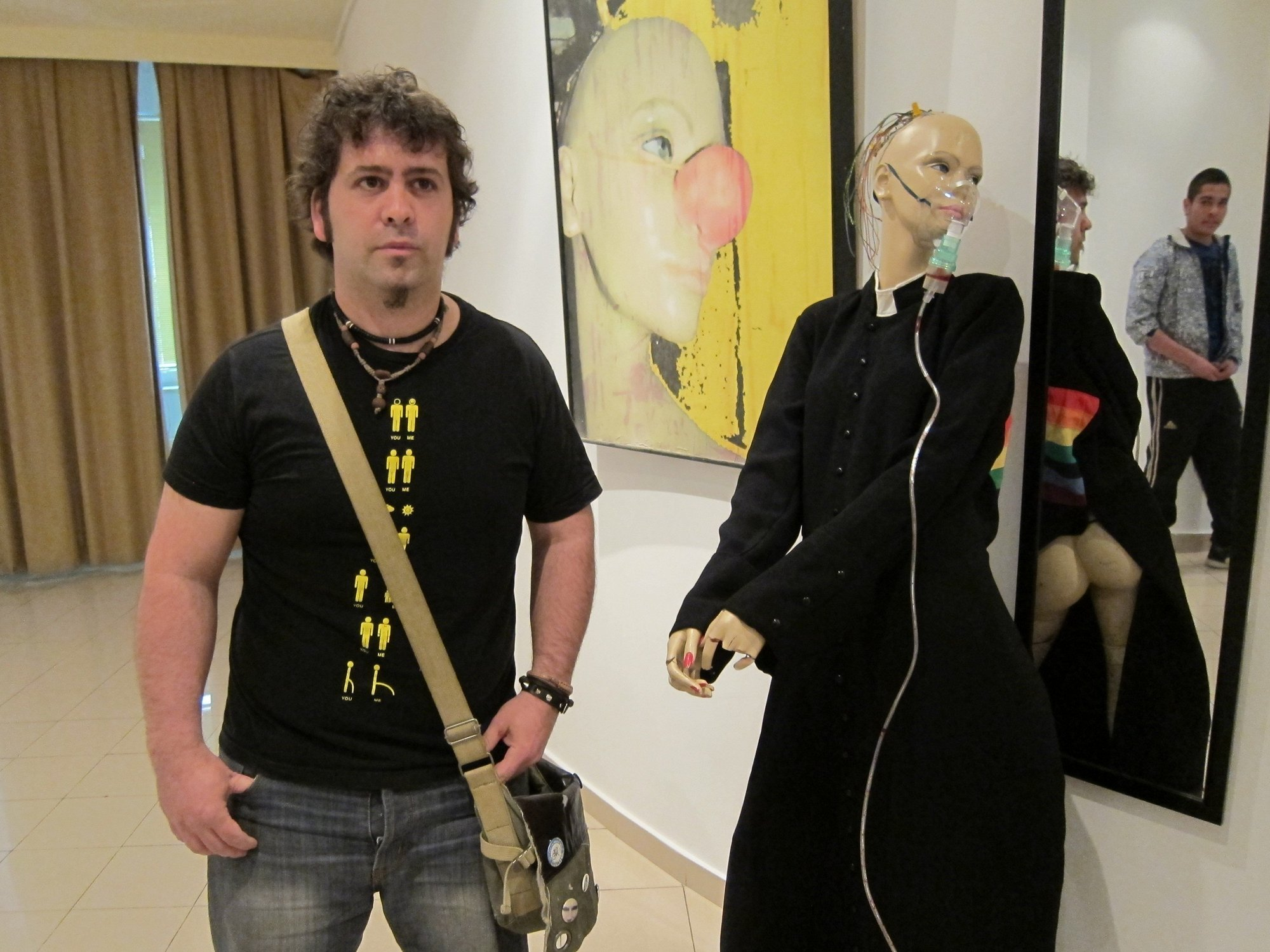 Javier Figueredo muestra su exposición en el Espacio Joven de Salamanca