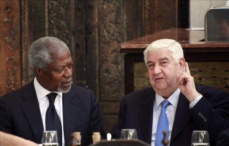Annan advierte de la posible expansión del conflicto sirio a toda la región
