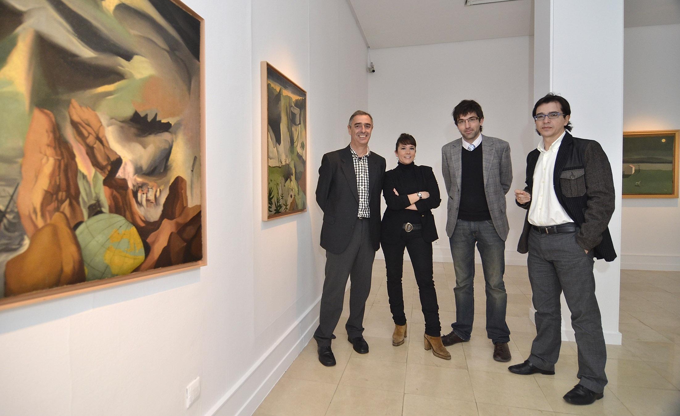 El Museo de Arte Contemporáneo de Santander rinde homenaje al pintor Antonio Quirós en el centenario de su nacimiento