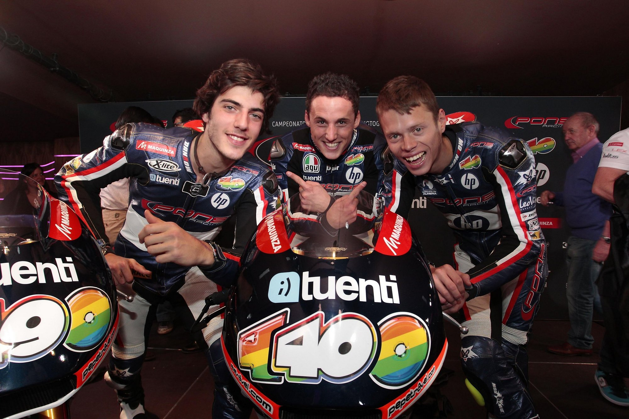 Sito Pons: «Todo el equipo se va a volcar para luchar por el título mundial de Moto2»