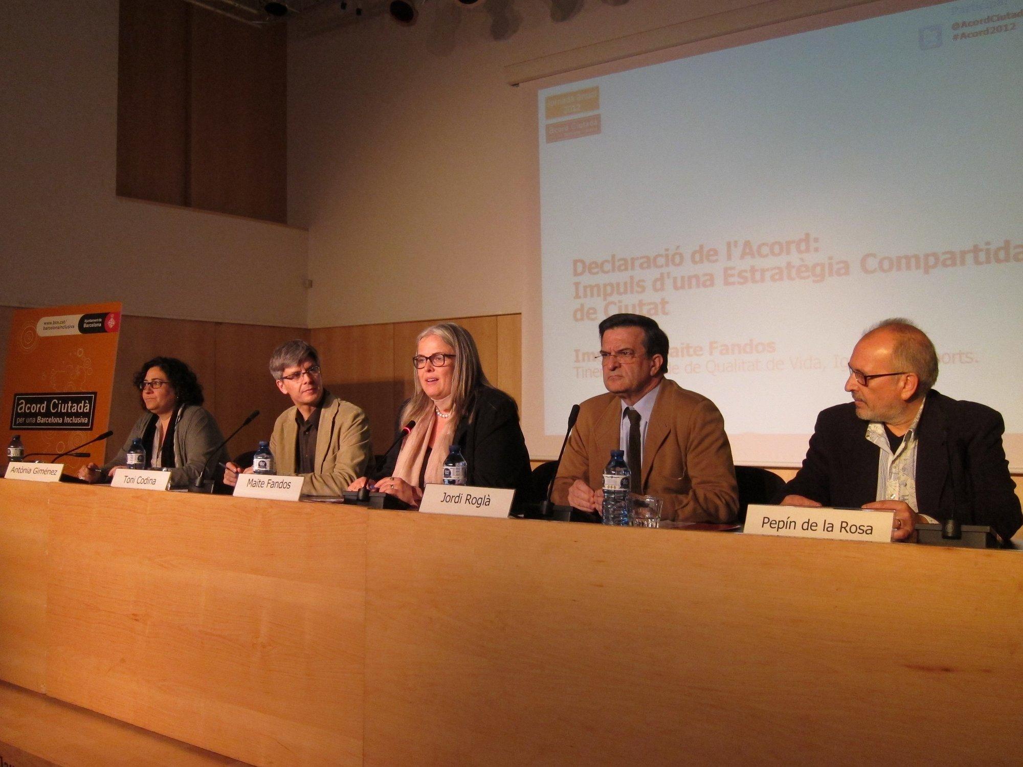 El gobierno de Trias refrenda el Acuerdo Ciudadano por una Barcelona Inclusiva impulsado en 2006