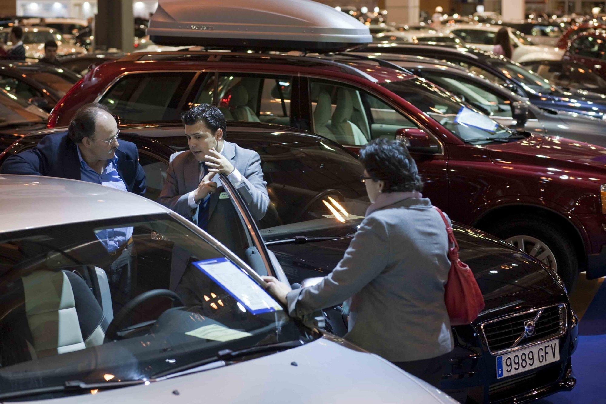 Las ventas de coches crecen en Murcia un 9,1% en la primera quincena de marzo, según Ganvam