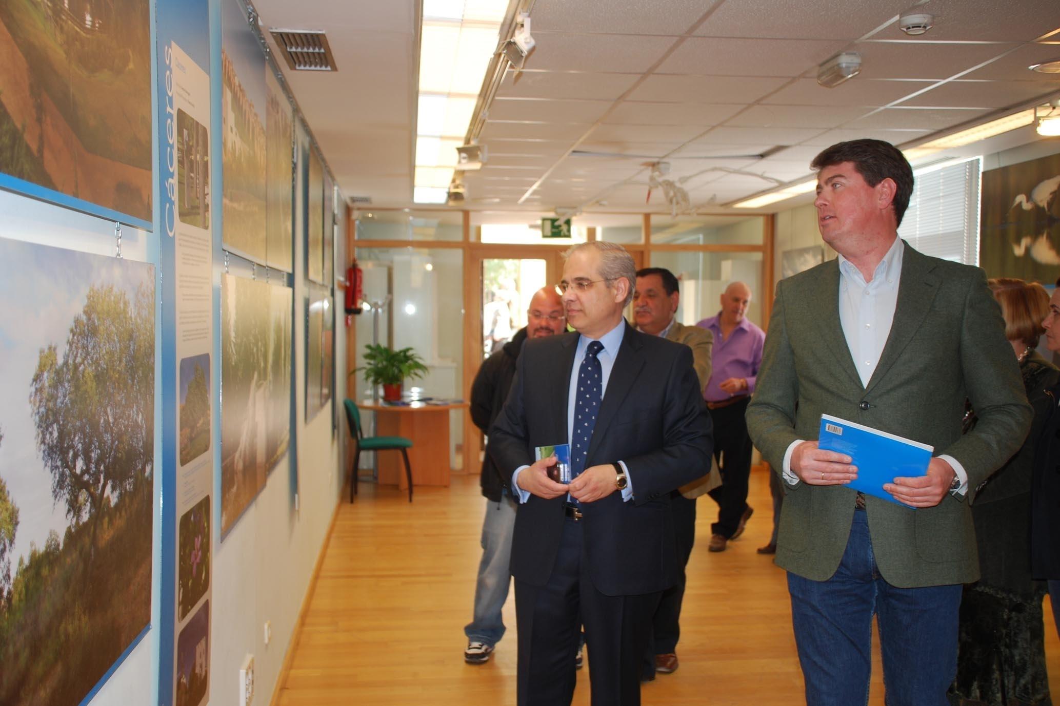 La exposición »Patrimonio Natural» sobre las Ciudades Patrimonio llega al municipio