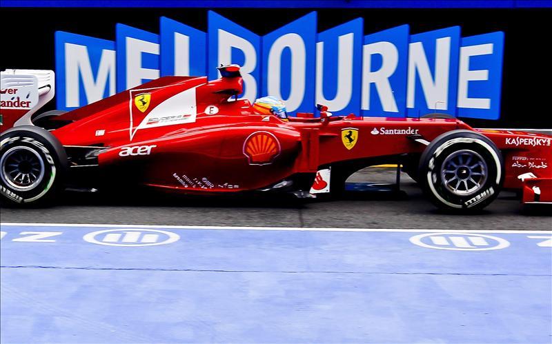 Fernando Alonso eliminado en la Q2 al salirse y acabar en la gravilla