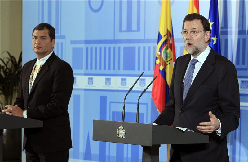 Rajoy se muestra «animado» para afrontar la «tarea gigantesca» ante la crisis