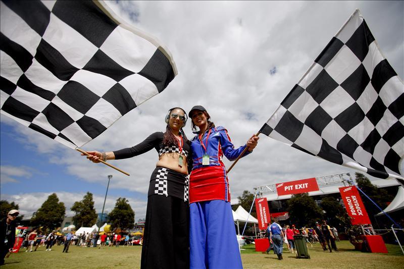 Los pilotos del Mundial 2012 de F1 se hicieron la foto oficial en Albert Park