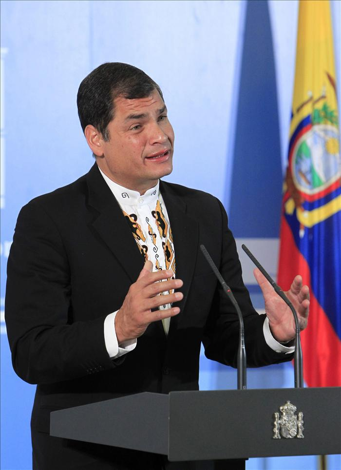 Rafael Correa cree que muchas veces la mejor participación es no participar