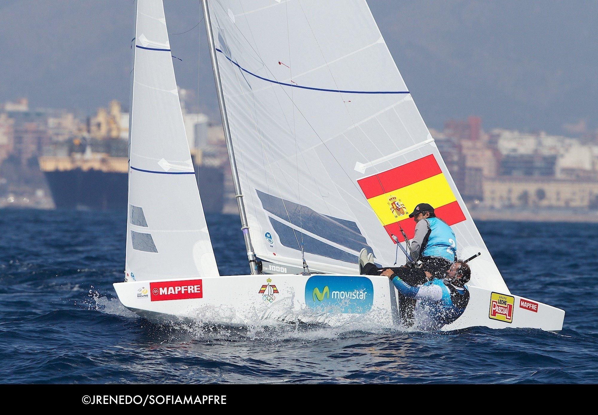 Echávarri y Rivero aguantan en el podio del Trofeo Princesa