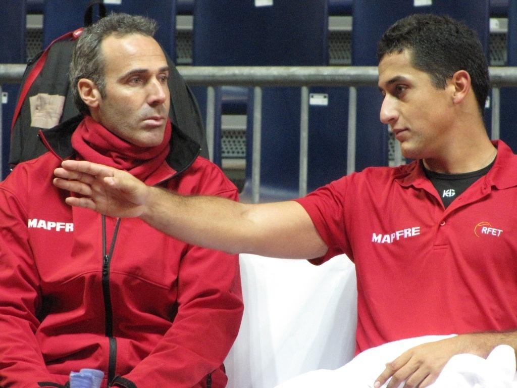 Almagro abrirá la eliminatoria de cuartos de final ante Melzer