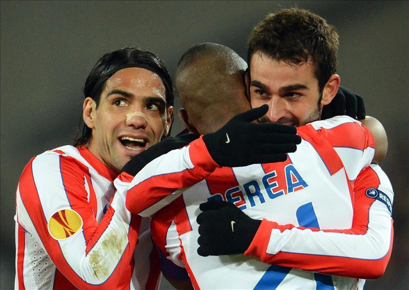 Atlético, Valencia, Athletic y Sporting de Lisboa a semifinales de la Liga Europa