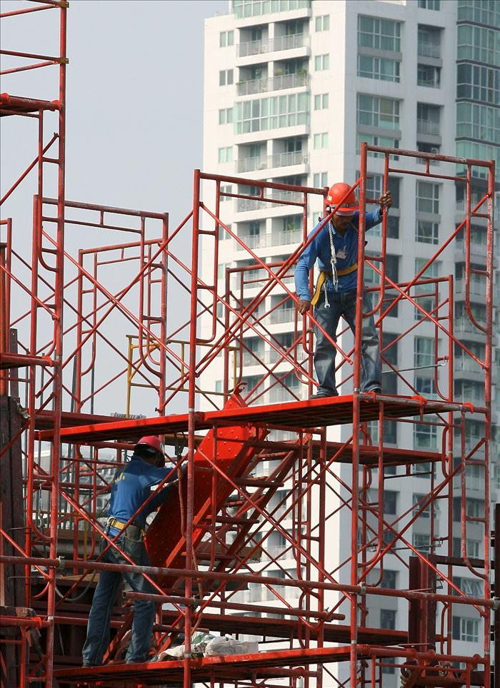 CCOO advierte de que los parados en la construcción superan a los asalariados