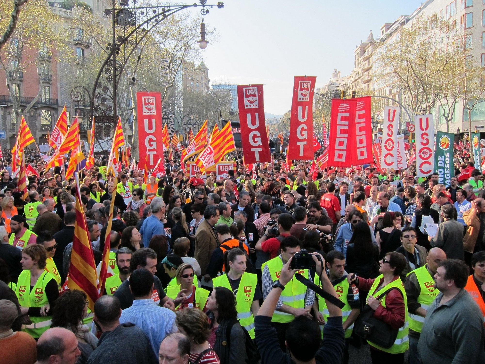 CC.OO. cree que el dictamen sobre la reforma laboral avala la huelga y pide ir al TC