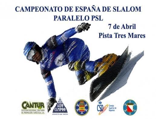 Los mejores deportistas de snow se darán cita en Alto Campoo en el Campeonato de España de Slalom Paralelo