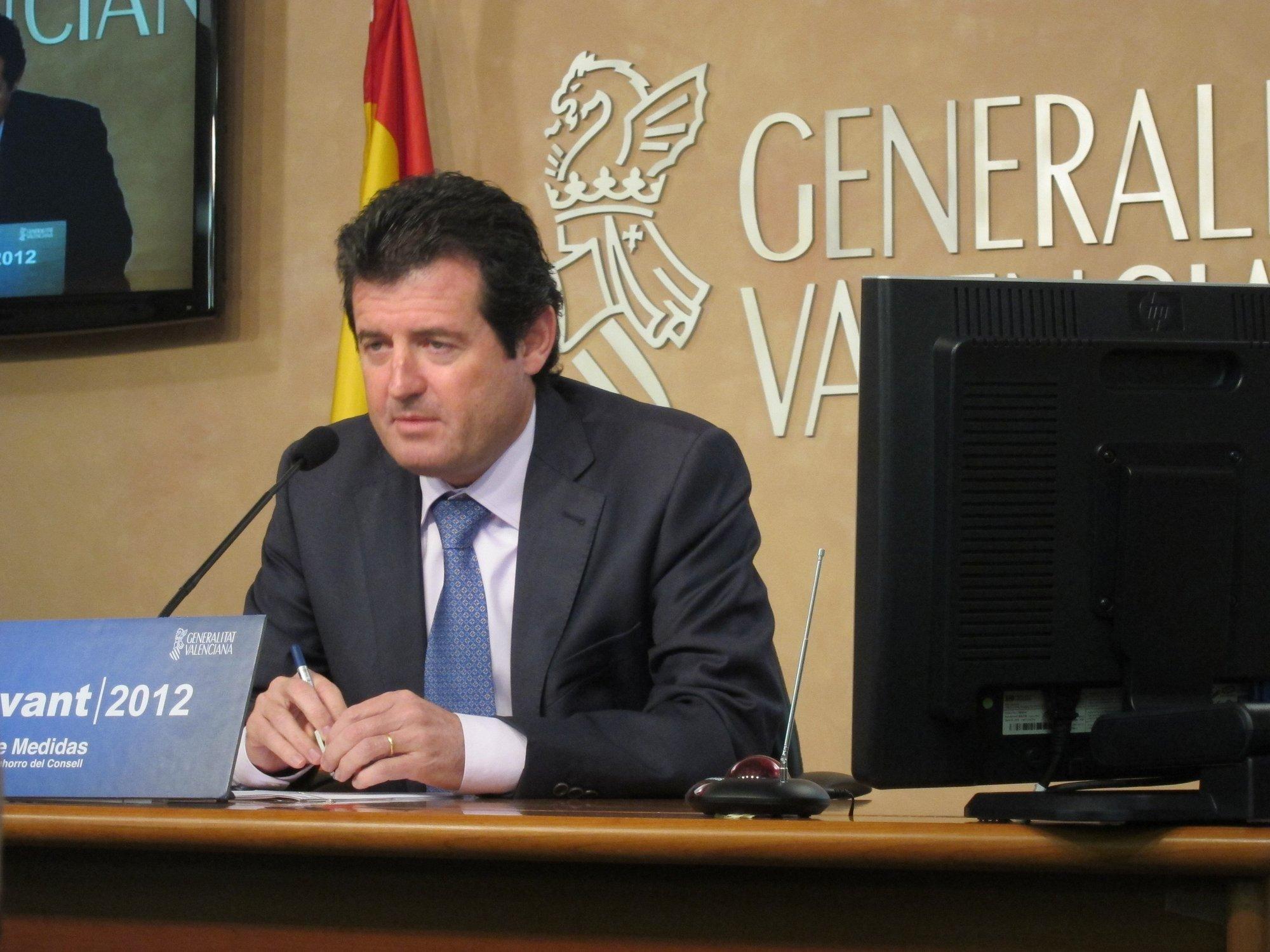 Císcar recuerda que las cuentas del PPCV están fiscalizadas y no se ha detectado «ninguna anomalía»