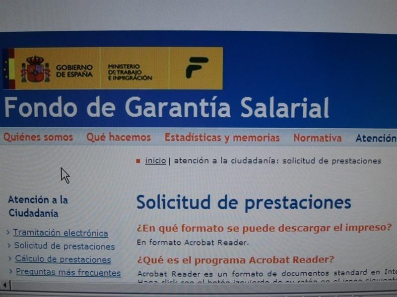 El gasto medio del Fogasa en prestaciones se situó en 3,2 millones en Cantabria hasta febrero