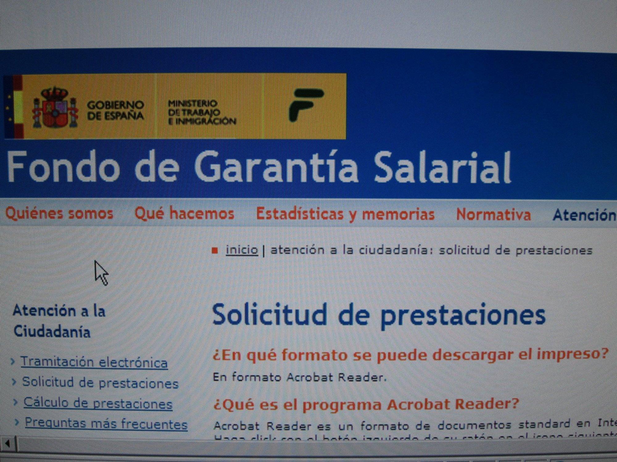 El gasto del Fogasa en prestaciones se situó en 3,5 millones en Extremadura hasta febrero