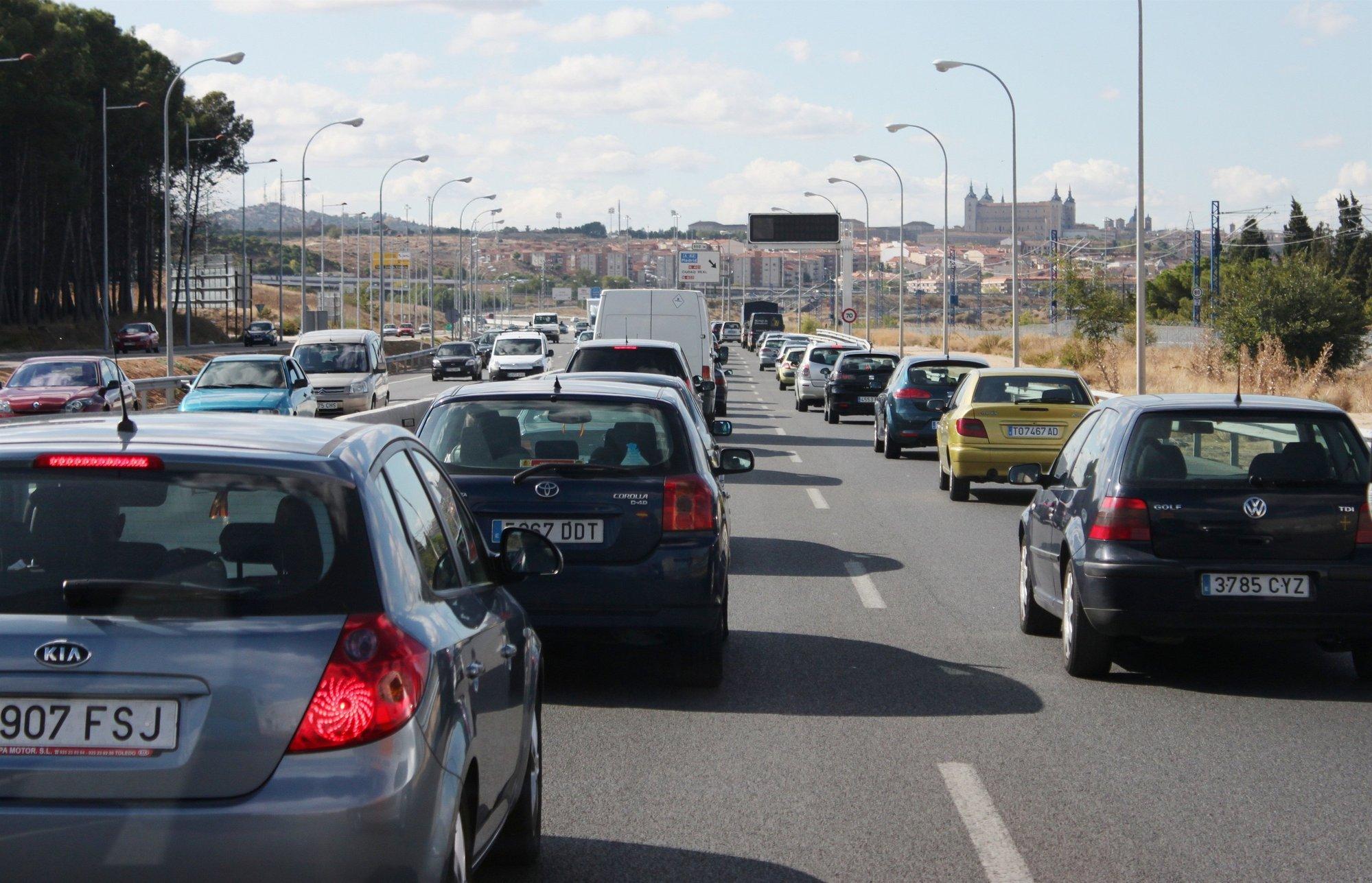 Normalidad en las carreteras murcianas al inicio de la segunda fase de la operación Semana Santa