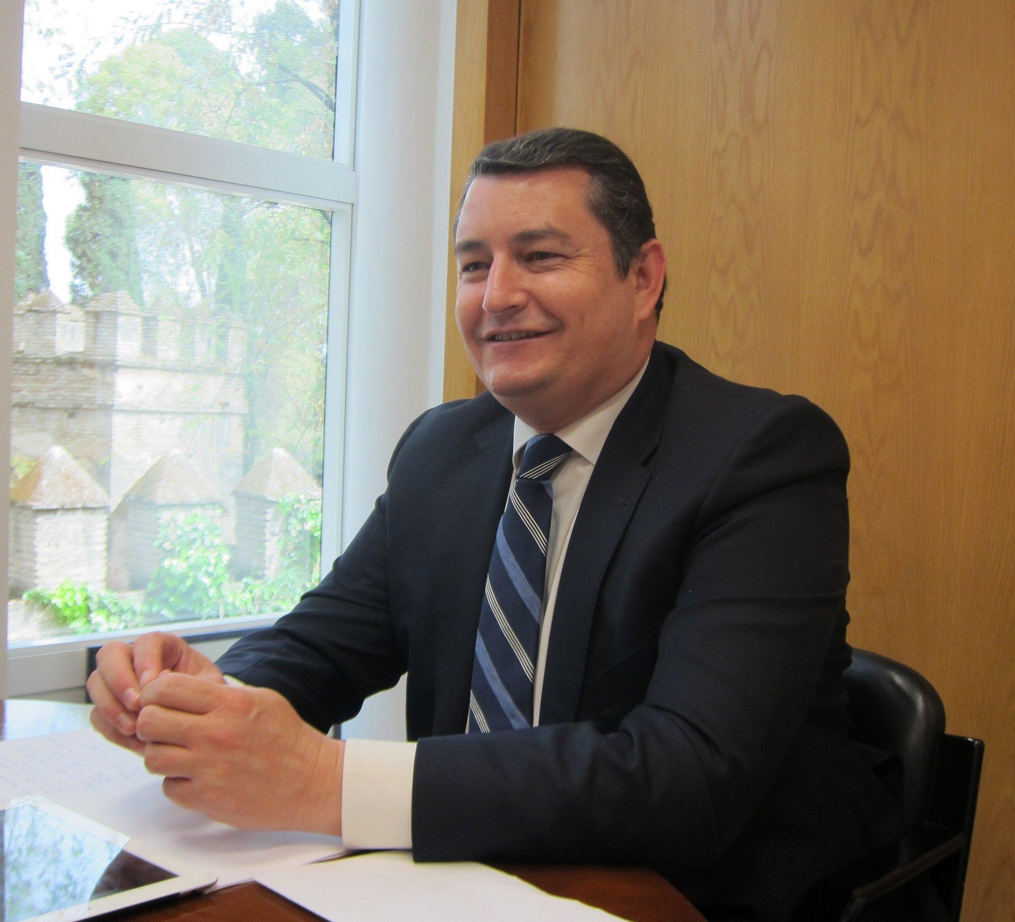 Sanz (PP-A) asegura que es un deseo de «la práctica totalidad del partido» que Arenas siga al frente de la formación