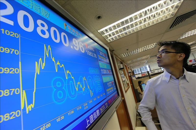El índice Hang Seng baja el 1,09 por ciento a media sesión