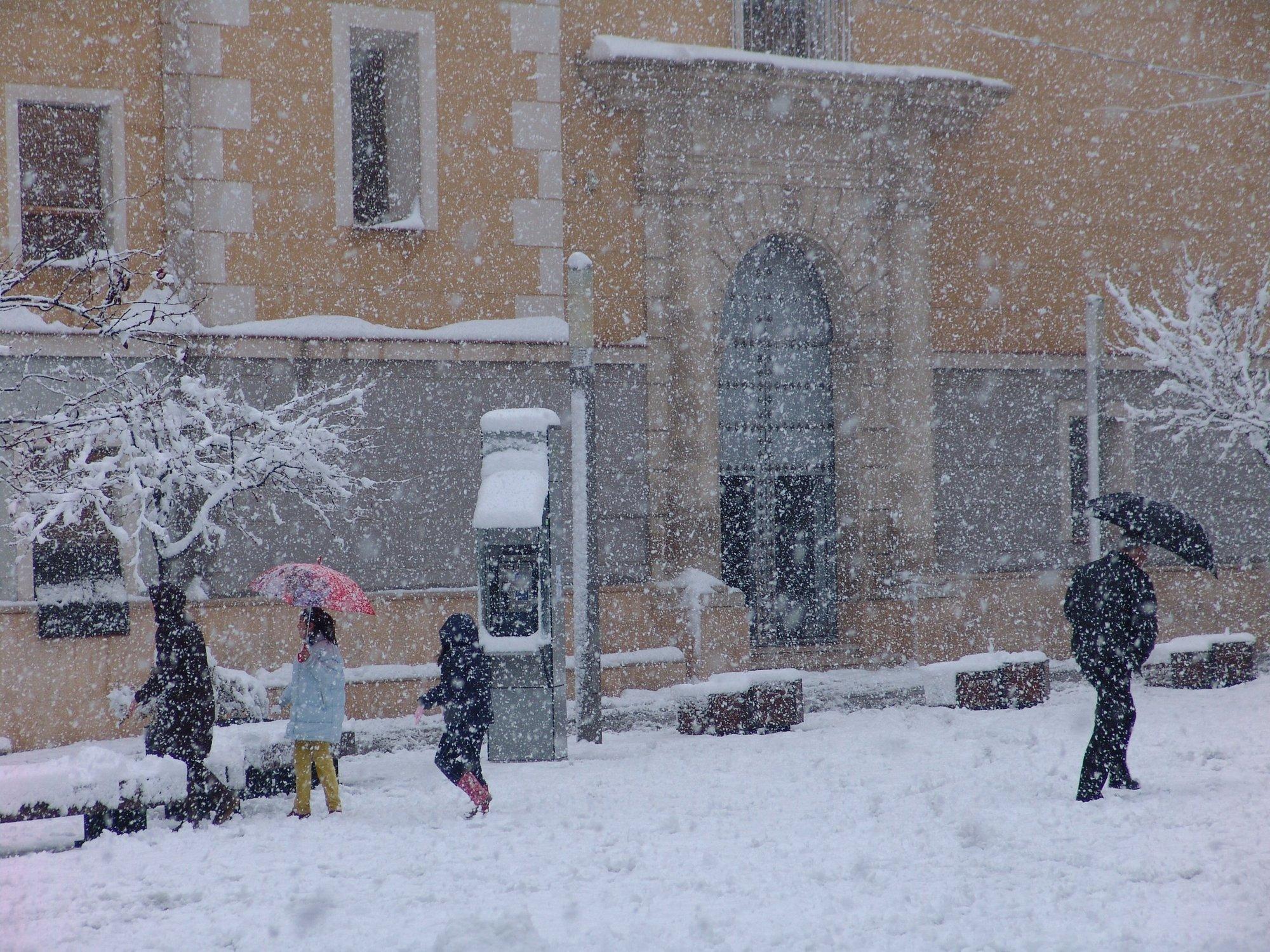 Siete provincias están en alerta este Jueves Santo por nieve
