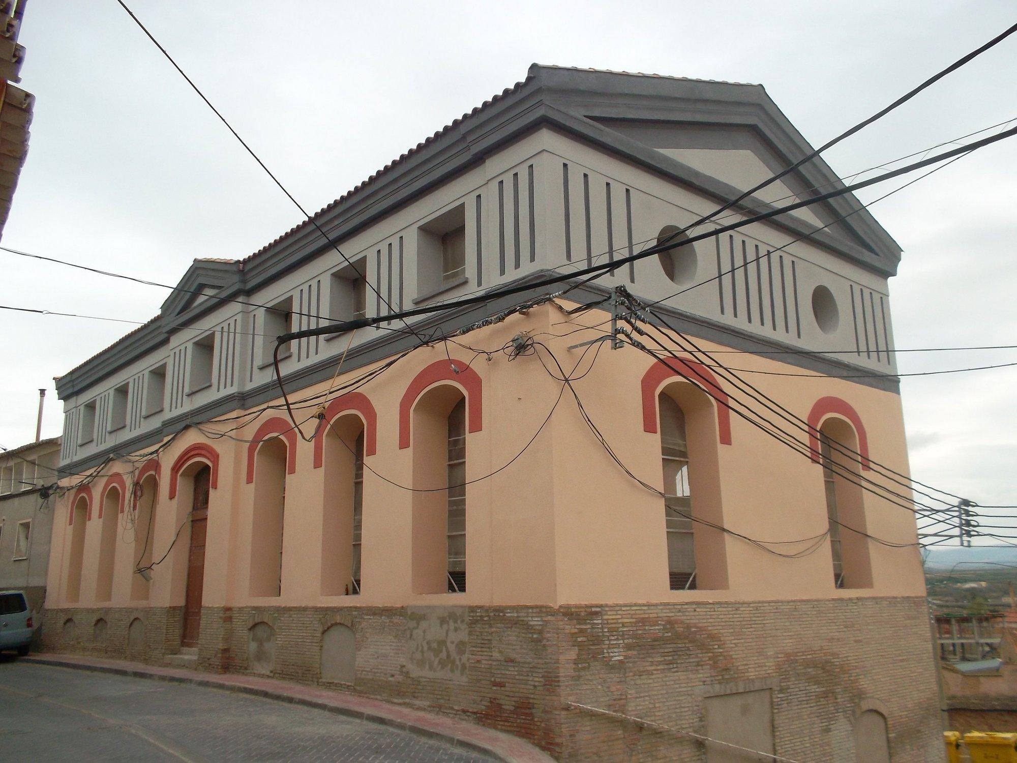 Los vecinos de Magallón pueden ver el resultado de la I fase de la rehabilitación del antiguo hospital