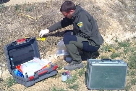 Agentes de Protección de la Naturaleza del Gobierno de Aragón localizan cebos envenenados en Binéfar (Huesca)