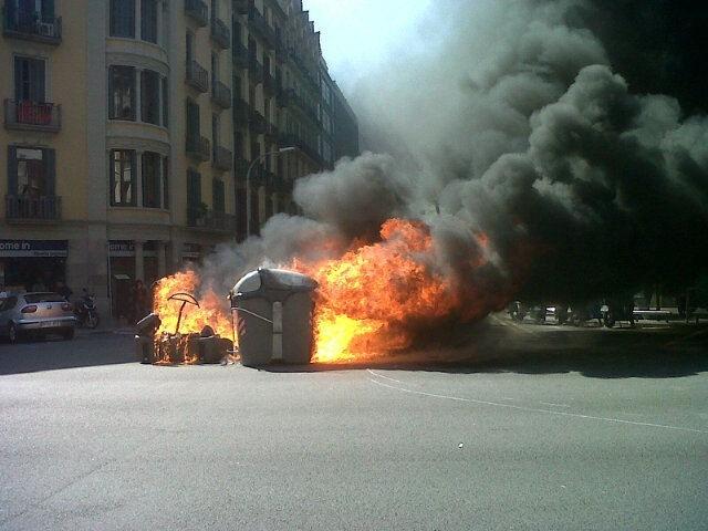 Barcelona no permitirá acampar a los indignados en la Plaza de Catalunya