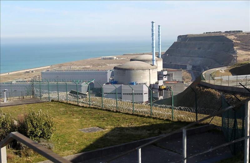 Detenida la fuga de agua en la central nuclear francesa de Penly