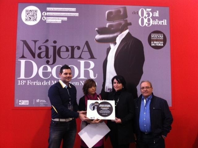 Hipercocinas y Expomuebles, distinguidos con el Premio »Reflejo de Diseño» que otorga la Feria Nájera Decor