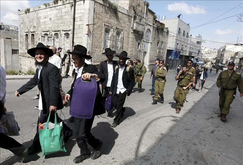 Israel cierra Cisjordania por la celebración de la Pascua judía