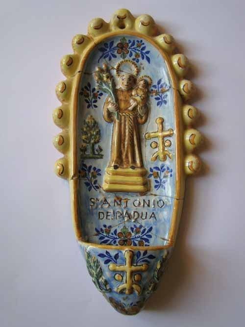 El Museo Etnográfico de Olivenza elige una benditera como pieza del mes de abril