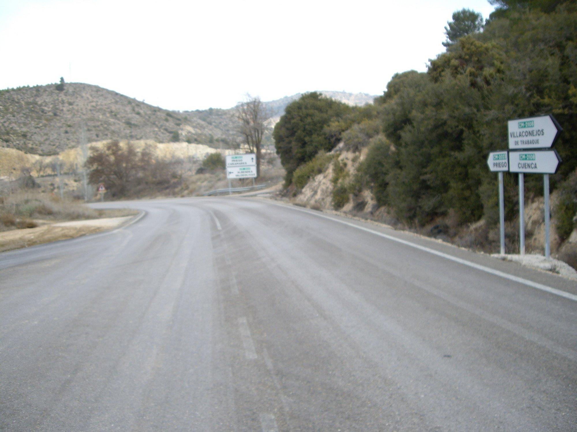 Normalidad en las carreteras de Castilla-La Mancha durante este Viernes Santo