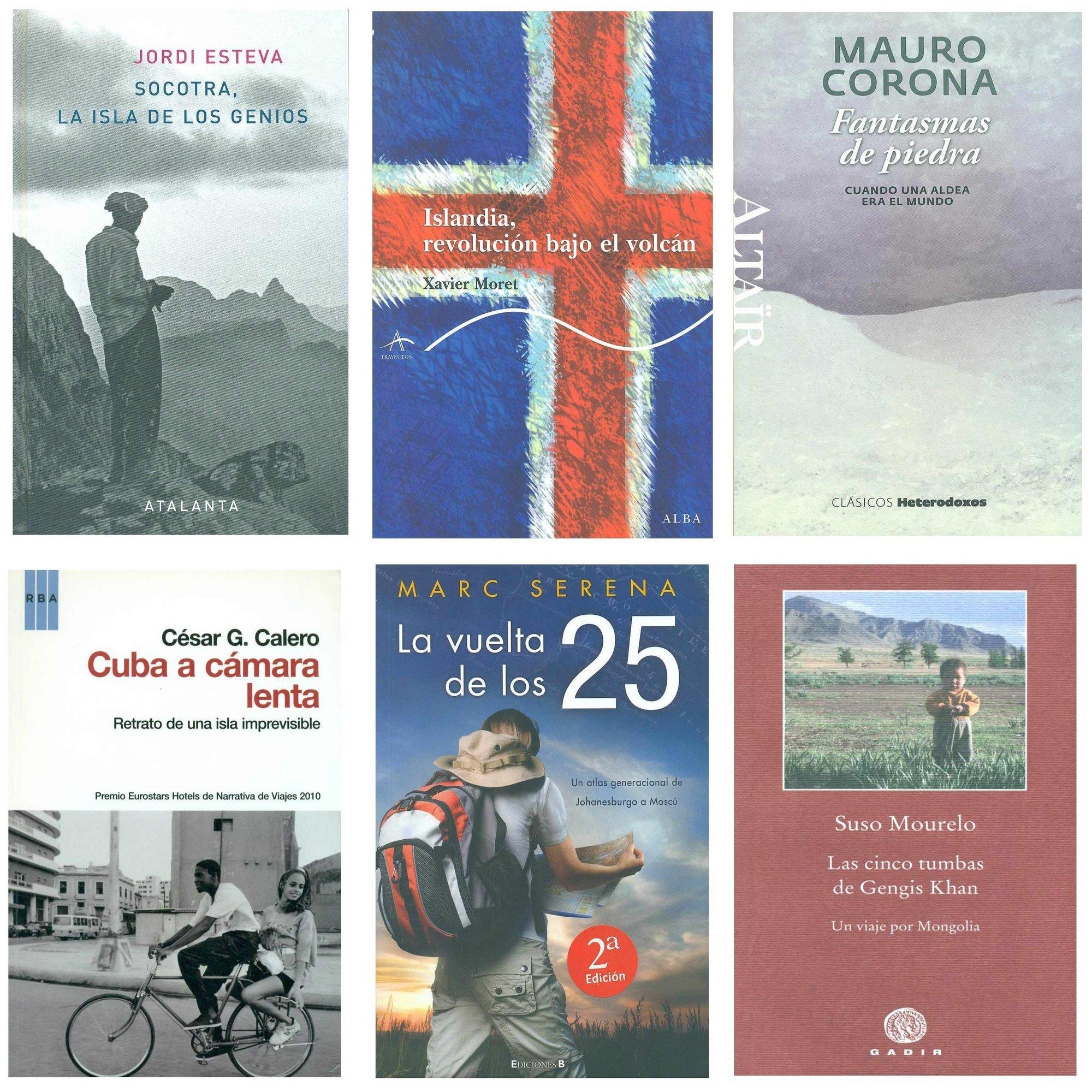 Seis libros finalistas optan al V Premio Internacional de Literatura de Viajes Camino del Cid