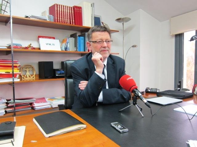Puig asegura que no le asusta que «haya voces» en el partido pero reclama un «único mensaje»