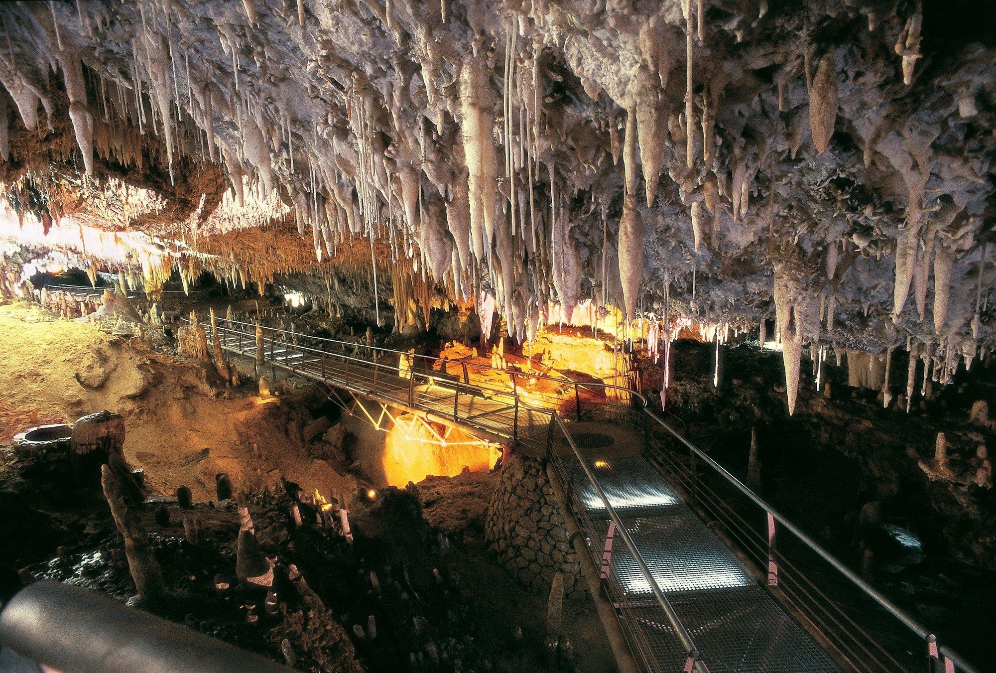 El Soplao, la instalación de Cantur más visitada el Jueves Santo, con más de 1.850 turistas