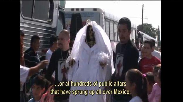 Los Zetas asesinan para dar culto a la Santa Muerte