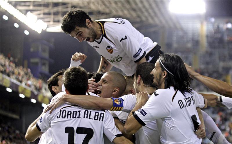 El Valencia superó la siete semifinales europeas que ha disputado