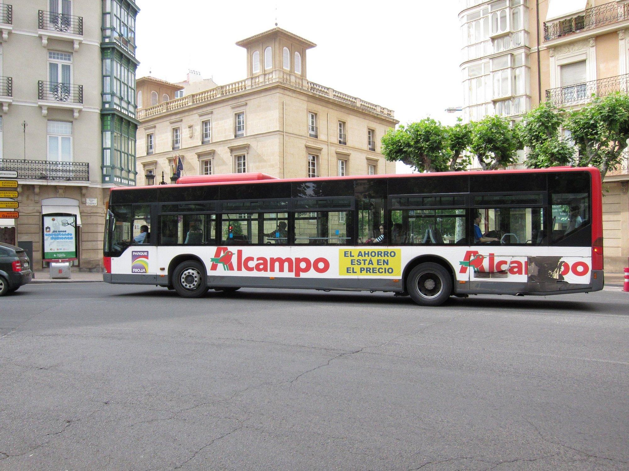 El transporte metropolitano asumirá las líneas urbanas de La Portalada y La Grajera, por la eliminación de duplicidades