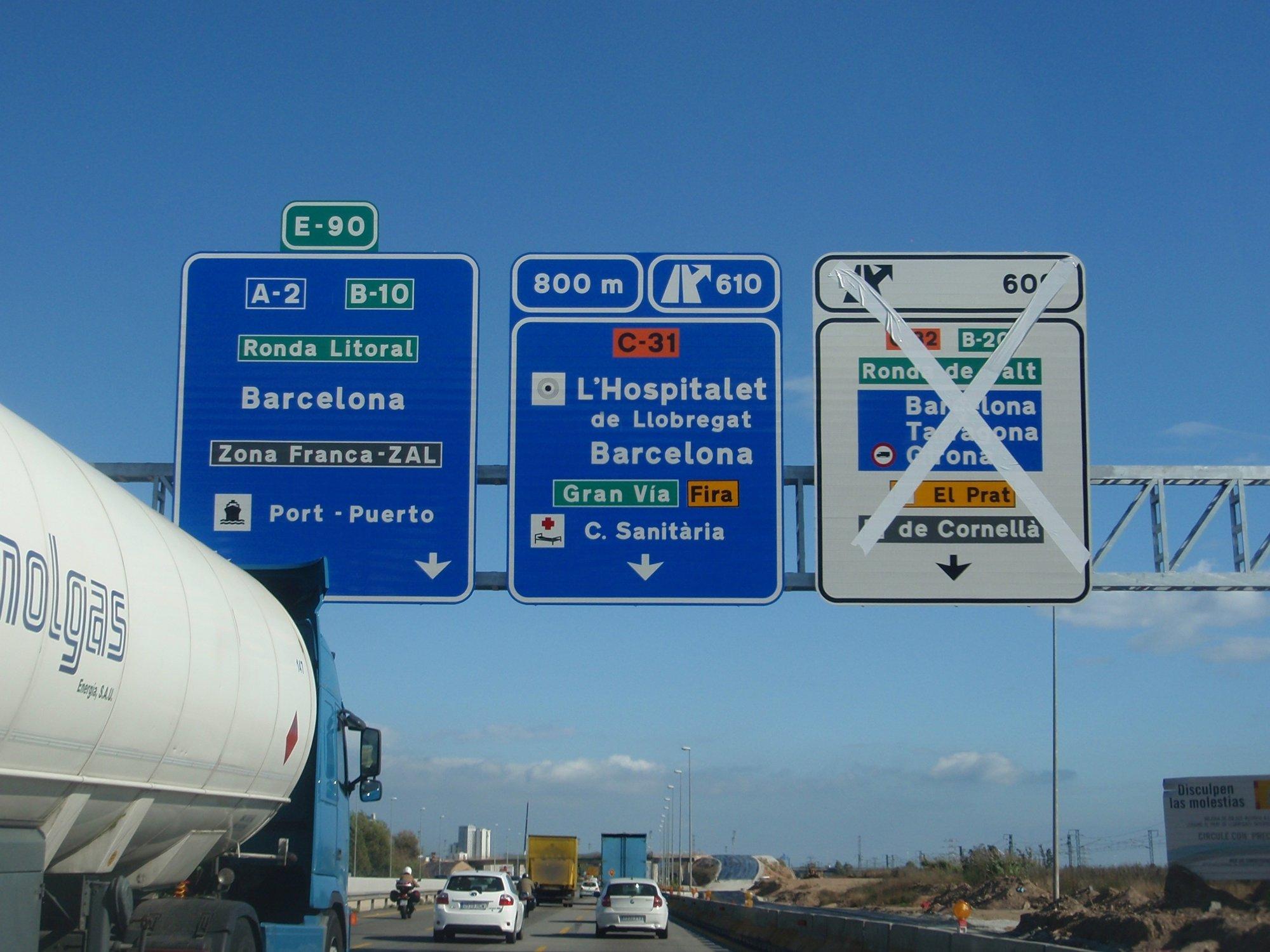 El 88% de los vehículos previstos en la operación salida han partido de Barcelona