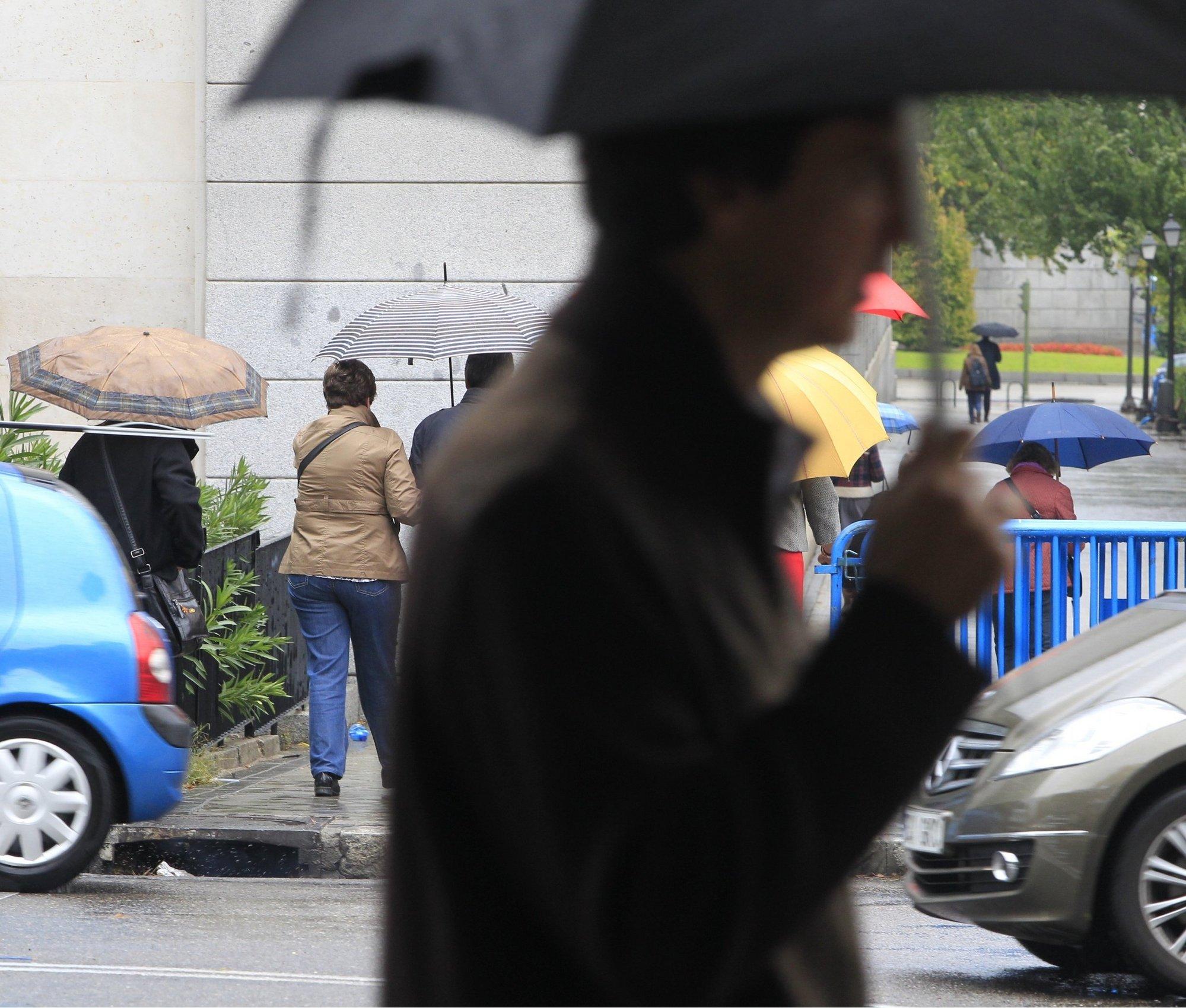 La Aemet activa el aviso amarillo en La Palma y El Hierro por fuertes lluvias