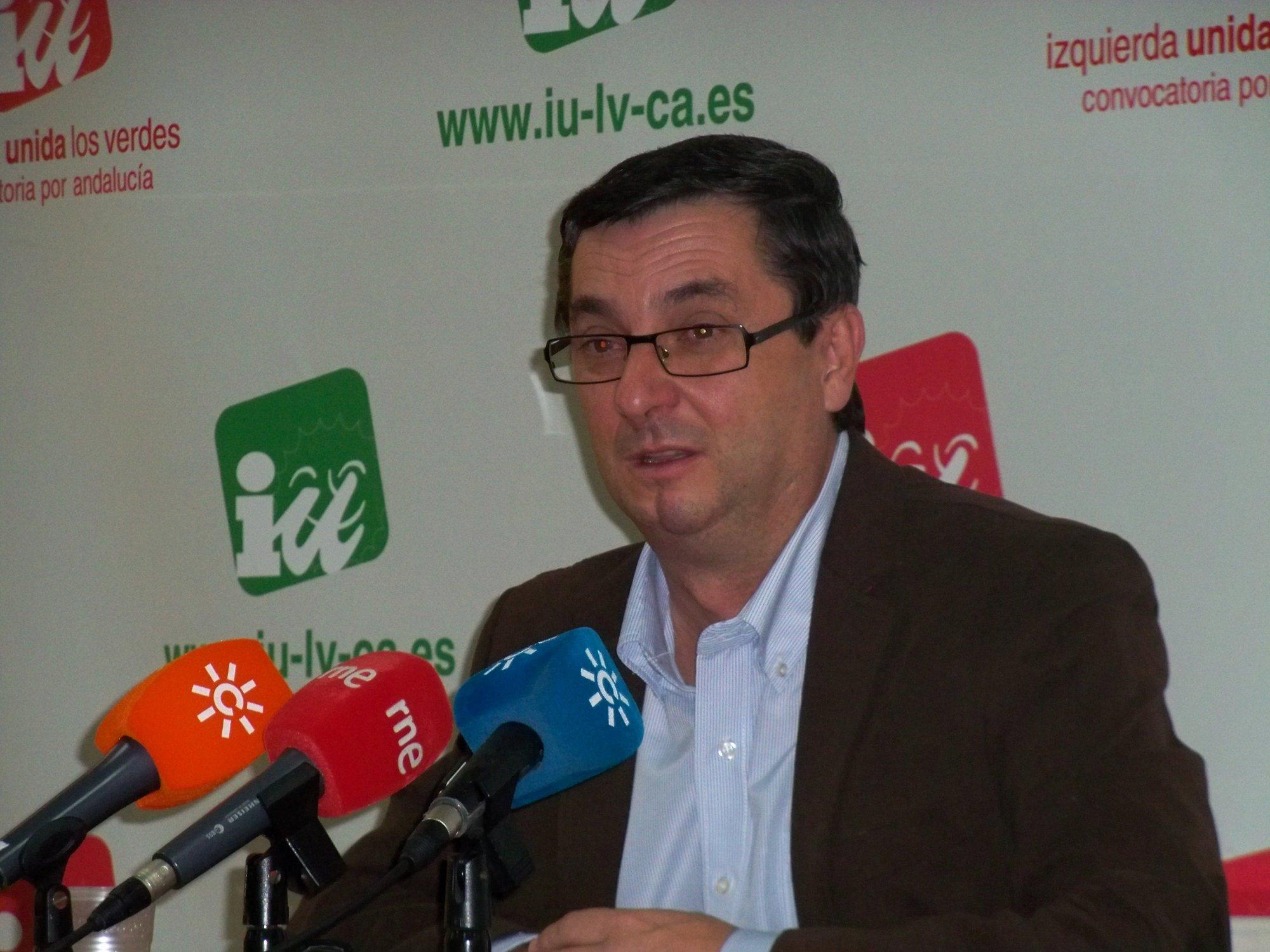 Centella (IU) asegura que se consultará a las bases sobre todas las opciones posibles en Andalucía