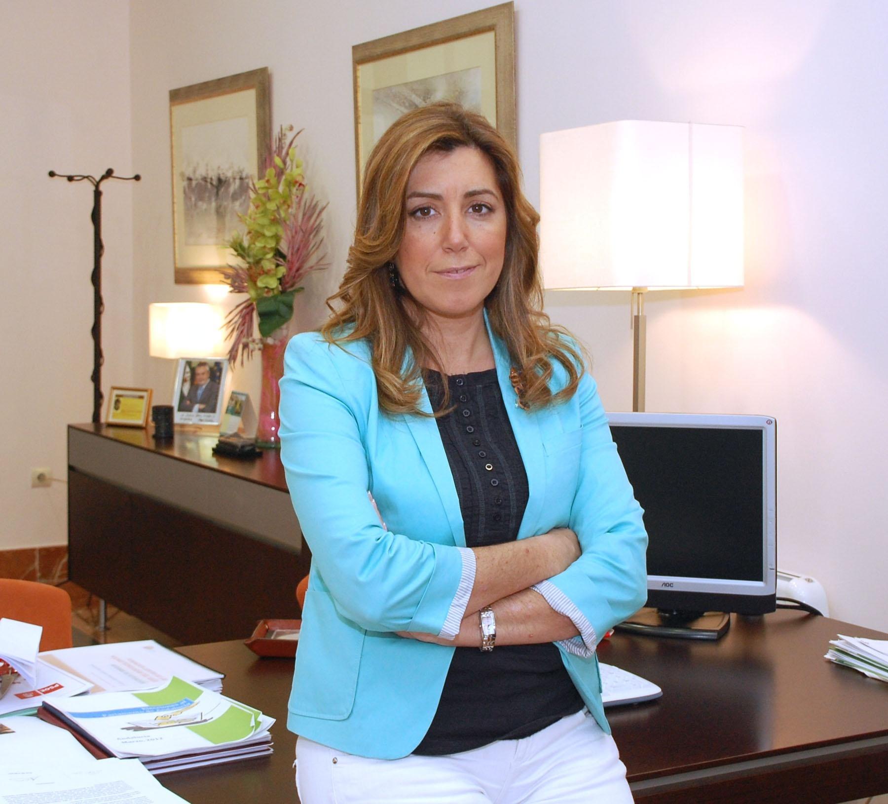 Díaz afirma que PSOE-A ha demostrado ante el 25M que es una «piña» y que se ha «dejado la piel» en torno a Griñán
