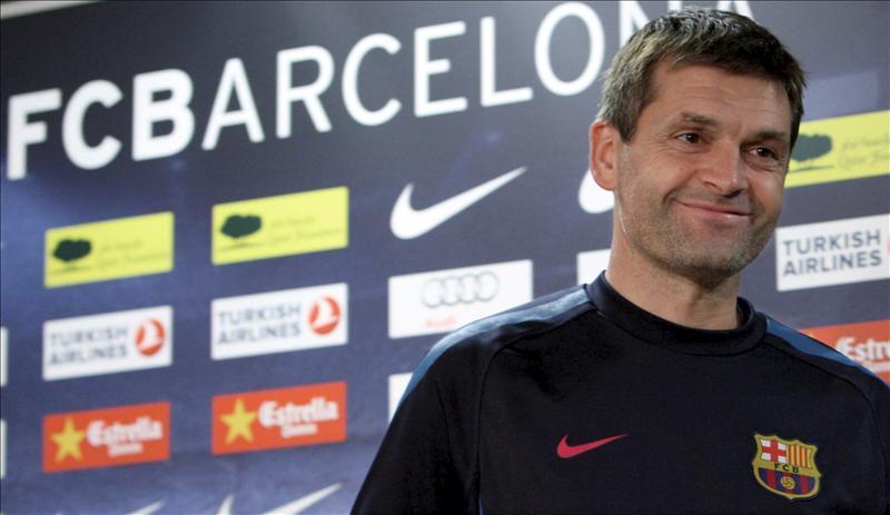 Tito Vilanova ya entrenó a Cesc, Messi y Piqué en el cadete invencible del Barça