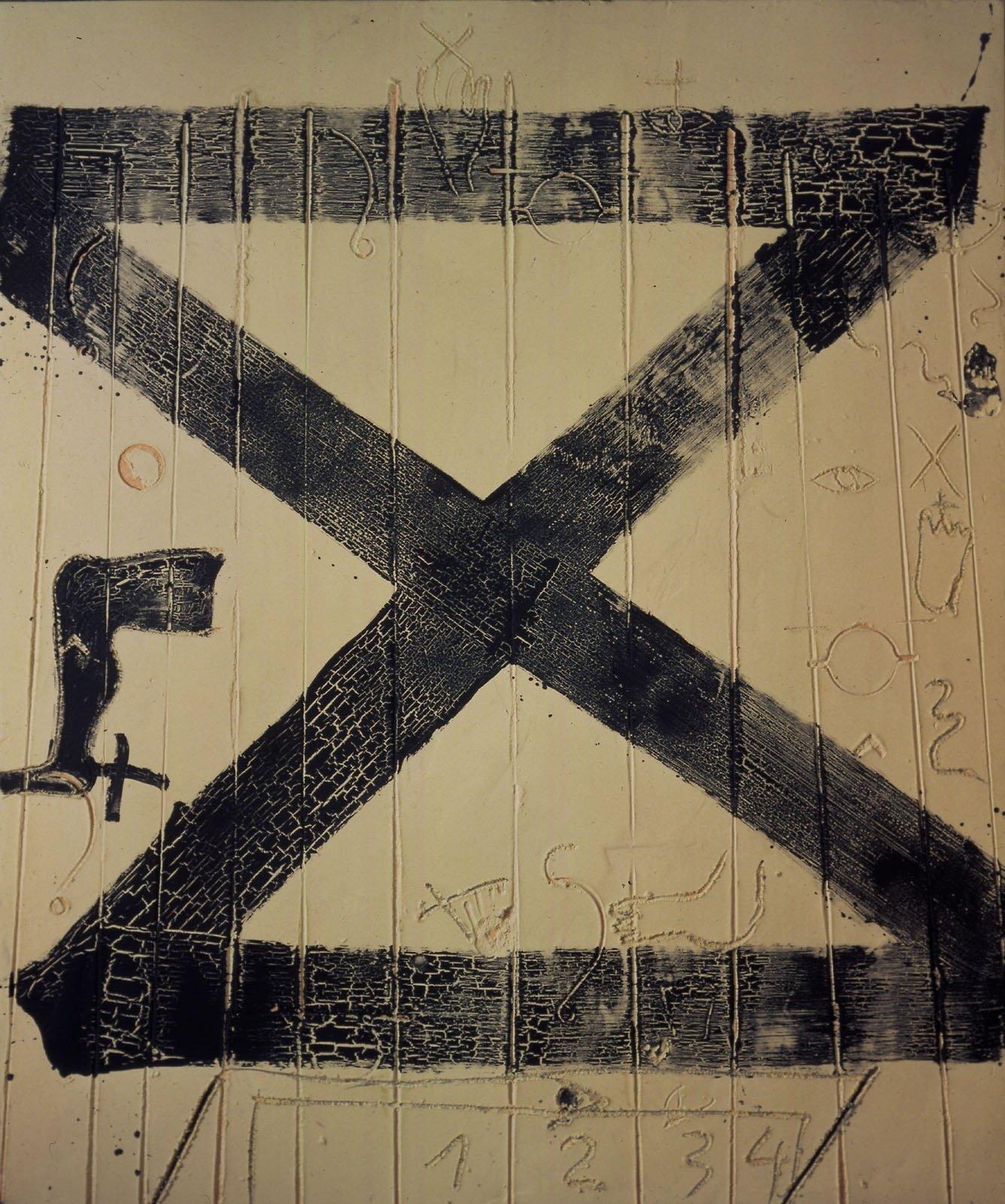 El MNAC saca dos obras de Tàpies del restaurante y las exhibe con la colección